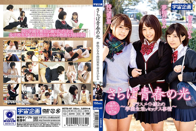 MDTM-497 Nakasone Rizumu School Girls School Uniform - 1080HD